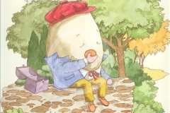 Humpty Eating Lunch