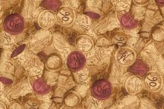Fabric Wine Motif